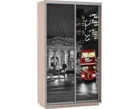 Базис Ночной Лондон 2-дверный шкаф-купе 1200 мм | 1400 мм