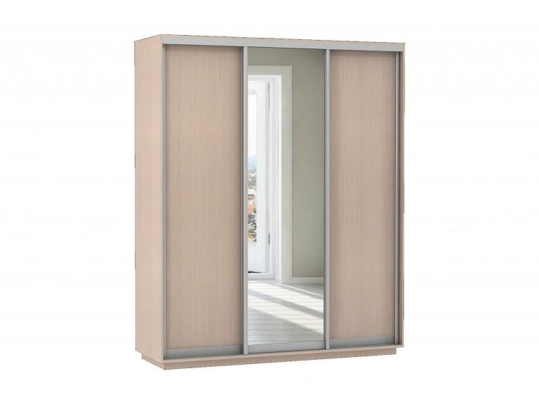 Базис 3-х дверный шкаф-купе 1 зеркало 1800 мм | 2000 мм